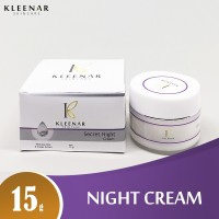 Kleenar Secret Night Cream 15g | Krim Malam Menyamarkan Flek Hitam