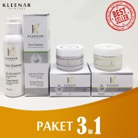 Paket Kleenar 3 in 1 ANTI FLEK HITAM | ANTI AGING | GLOWING | Kerut