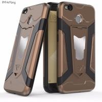 Model Baru BYHEYang For Xiaomi Redmi 4X Case Car Armor Magnetic