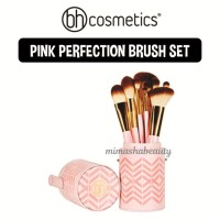 BH Cosmetics Pink Perfection - 10 Piece Brush Set 100% Original