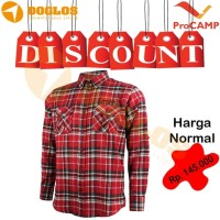 Kemeja Flanel ProCAMP Merah Baju Flannel Gunung Outdoor Hiking Travel 8c94d30800