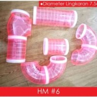 Pipa Hamster HM6 - Lorong Hamster