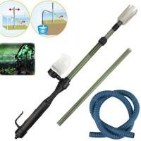 Cleaner Pump Syfon Kuras Aquarium Battery Pro