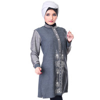 Dress Sarimbit Kasual Couple Muslimah - SGB 876