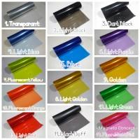 Sticker Lampu Smoke Hybrid Glossy