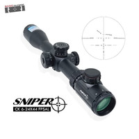 Telescope SNIPER CK 6-24x44 FPSAL Hunting Glass Riflescope Sniper
