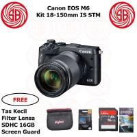 Harga kamera canon eos m6 kit m18 150mm camera mirrorless m6 kit | Pembandingharga.com
