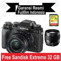Harga fujifilm x t2 kit 18 55 mm xt2 with xf 23 mm f1 4 promo | Pembandingharga.com