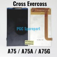 Original OEM LCD Evercoss A75 - A75A - A75G - Cross Evercross LCD SAJA