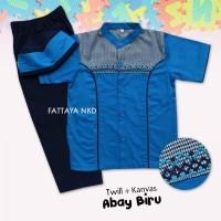 Fattaya Kids Koko Abay baju muslim anak-anak baju koko anak