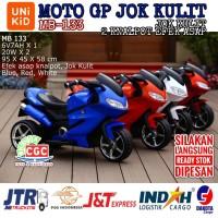 Mainan Motor Aki Unikid MB 133 Moto GP Knalpot Efek Asap Jok Kulit 133