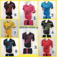 Kaos Olahraga Baju Voli Mizuno Jersey Bola Setelan Futsal mz 23