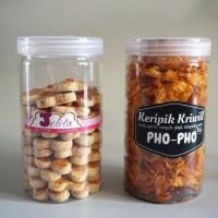 Toples Plastik PET 1000ml Jar Premium Tabung 1L Serbaguna 1000 ml