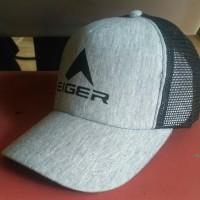 Harga topi trucker jaring eiger abu abu hitam  95dc82ea83