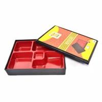PC 1110K | Piring Sekat | Piring Bento Box Set 10 Inch Golden Dragon