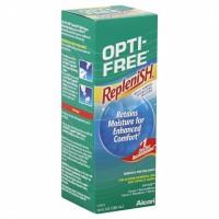 alcon opti free replenish cairan pencuci softlens anti bakteri 300 ml
