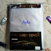 Ayla Body Cover Mobil / Mantel Penutup / Selimut Silver MURAH
