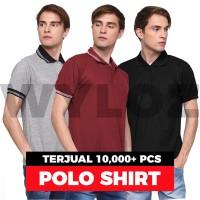 Jual Kaos Polo Shirt Polos Kerah Premium Grosir Golf Rasa Lacoste / Gildan Murah