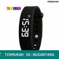 Garansi! SKMEI Jam Tangan Pria/Wanita LED Gelang Fitness Tracker - W05