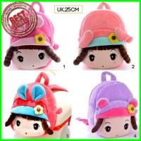 tas backpack ransel lucu karakter boneka Limited