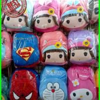 tas ransel backpack anak boneka cantik korea import Murah