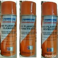 Flaw Check Cleaner, Penetrant, Developer