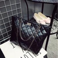 tas wanita shoulder bag jinjing cewek hitam handbags murah kece