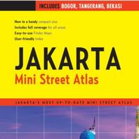 Buku Map Jakarta Mini Street Atlas new
