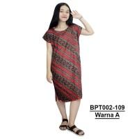 Daster Midi, Dress Santai, Baju Tidur, Piyama, Atasan Batik-BPT002-109