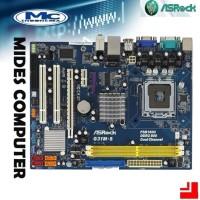 Mainboard Mobo Intel LGA G31 DDR2 onboard vga merk Asrock