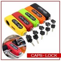 Caps Lock Caps-Lock Grip Lock Gembok Kunci Ganda Pengaman Motor
