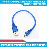 Kabel Data Mini USB Arduino Nano High Grade