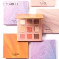 FOCALLURE New 9 Colors Eyeshadow Palette with Mirror Original