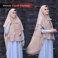 Hijab Jilbab Khimar Cardi Clarissa Grosir Jilbab Instan Syari Murah