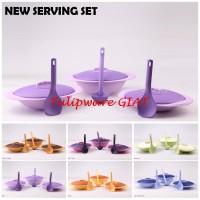 New serving set twin tulipware