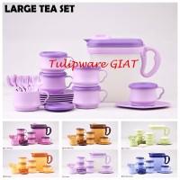 Set Teko Pitcher Mug Lengkap / Large Tea Set Tulipware