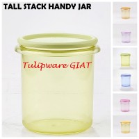 Toples Anti Pecah - Wadah Kue Lebaran - Tall Stack Handy Jar Tulipware