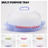 Multi Purpose Tray Tulipware / Tudung saji / Tempat kue tart