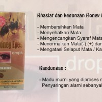 Honey Eyes / Madu Mata / Obat Tetes / Tetes Mata