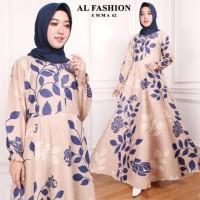 Maxi Emma Gamis Busana Jumbo Muslim Dan Hijab Party Dress Murah