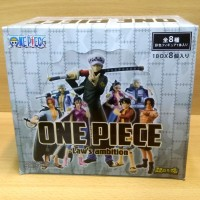 Chozokei Damashii ONE PIECE -Law's Ambition- 8/SET Luffy Smoker Shanks