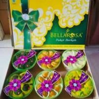 Paket Kue Kering Parcel Idul Fitri Bellarosa 6 toples
