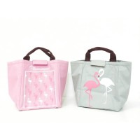 TOTE BAG FLAMINGO / lunch bag/ tas bekal
