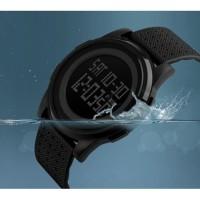 jam tangan wanita cewek original skmei casio led digital anti air