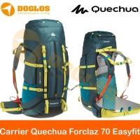 Carrier Quechua Forclaz 70 Easyfit Backpack Tas Gunung Keril Hiking