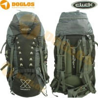 Carrier Click Concord 60 Tas Gunung Travel Outdoor With Raincover