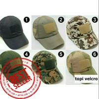 TOPI VELCRO TACTICAL ARMY KUALITAS NO 1