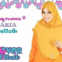 Terbaru Jilbab Instan Jersey Bergo adem polos FAZIA by Clover Hijab