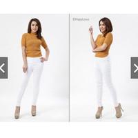 Harga celana soft jeans hight waist size 27 | Pembandingharga.com