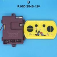 Remote Control Bluetooth + Receiver 12v Tipe B mobil/motor mainan aki